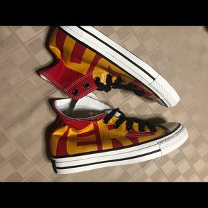 Converse all star chuck Taylor red Gold SAMPLE